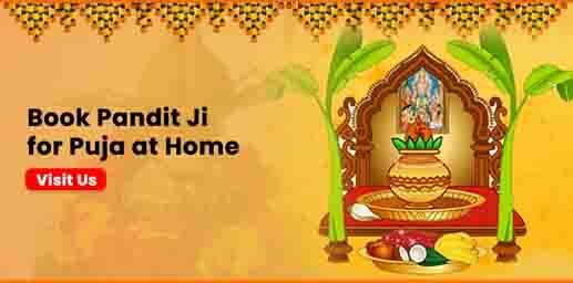 Book Pandit ji for puja at home online on bhagwanbhajan.com