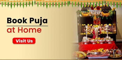 Book Puja at Home