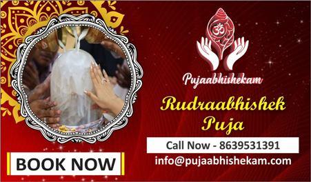 Rudrabhishek Puja of Bhagwan Shiv on Bhagwanbhajan.com