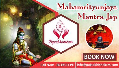 Book Mahamritunjay Mantra Jap on Bhagwanbhajan.com