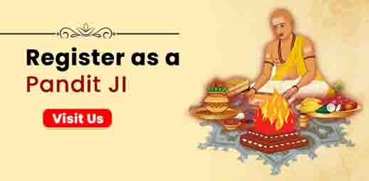 Register as a Pandit Ji