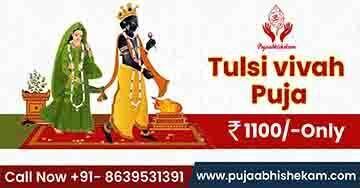 Tulsi Vivah Puja Book Online