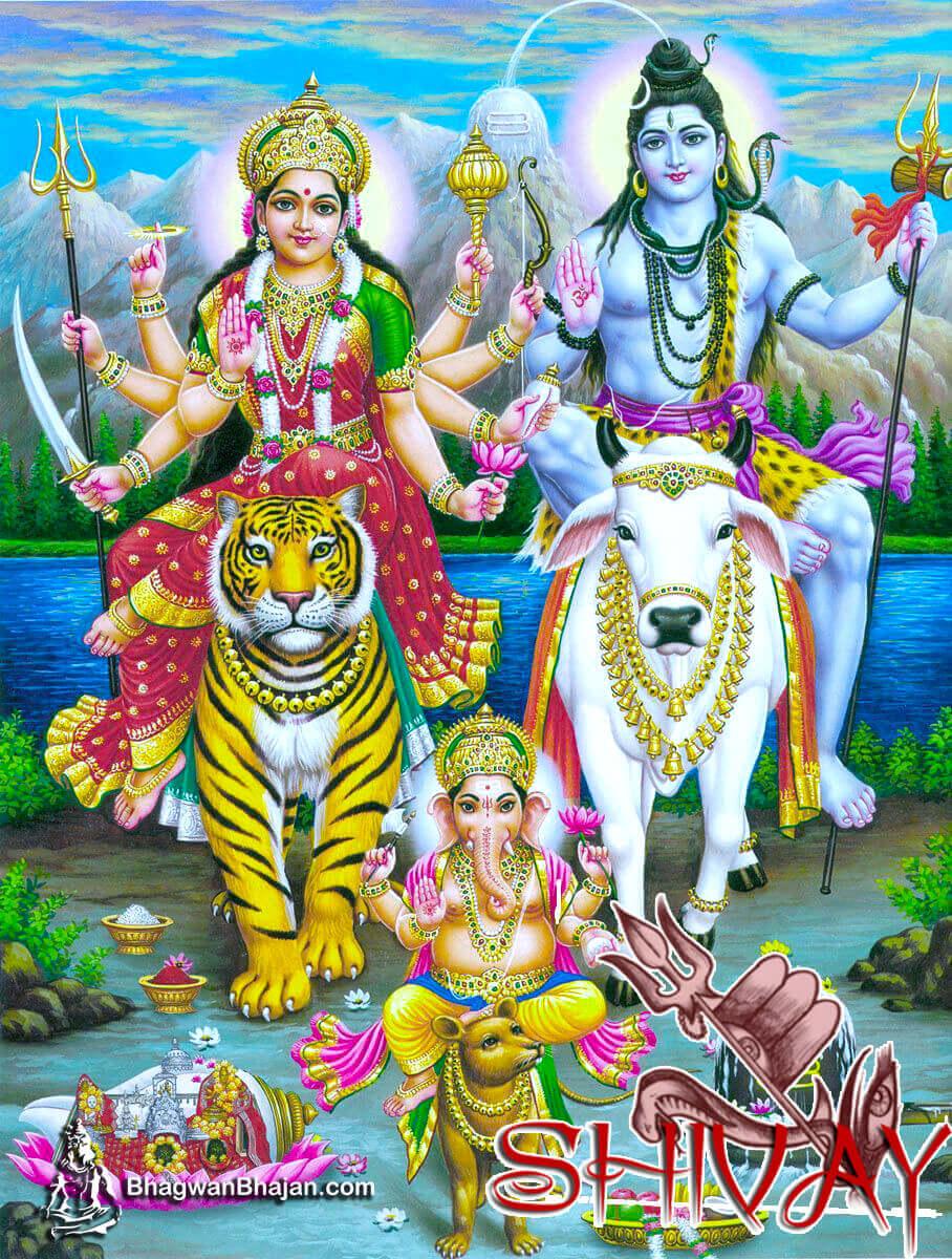 Hindu Gods & Goddess Hd Wallpaper