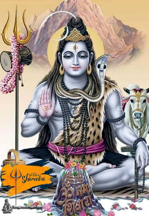 Bhagwan Shiv dhyan mudra wallpaper