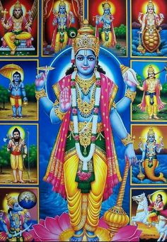 Bhagwan Vishnu Hd Image and wallpaper