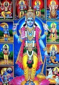 Bhagwan vishnu hd wallpaper 5