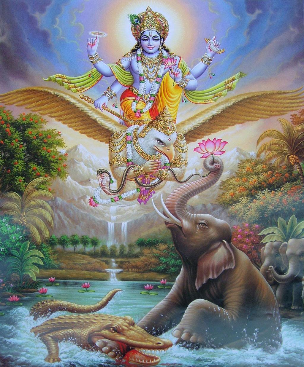 Bhagwan vishnu garuda avatar