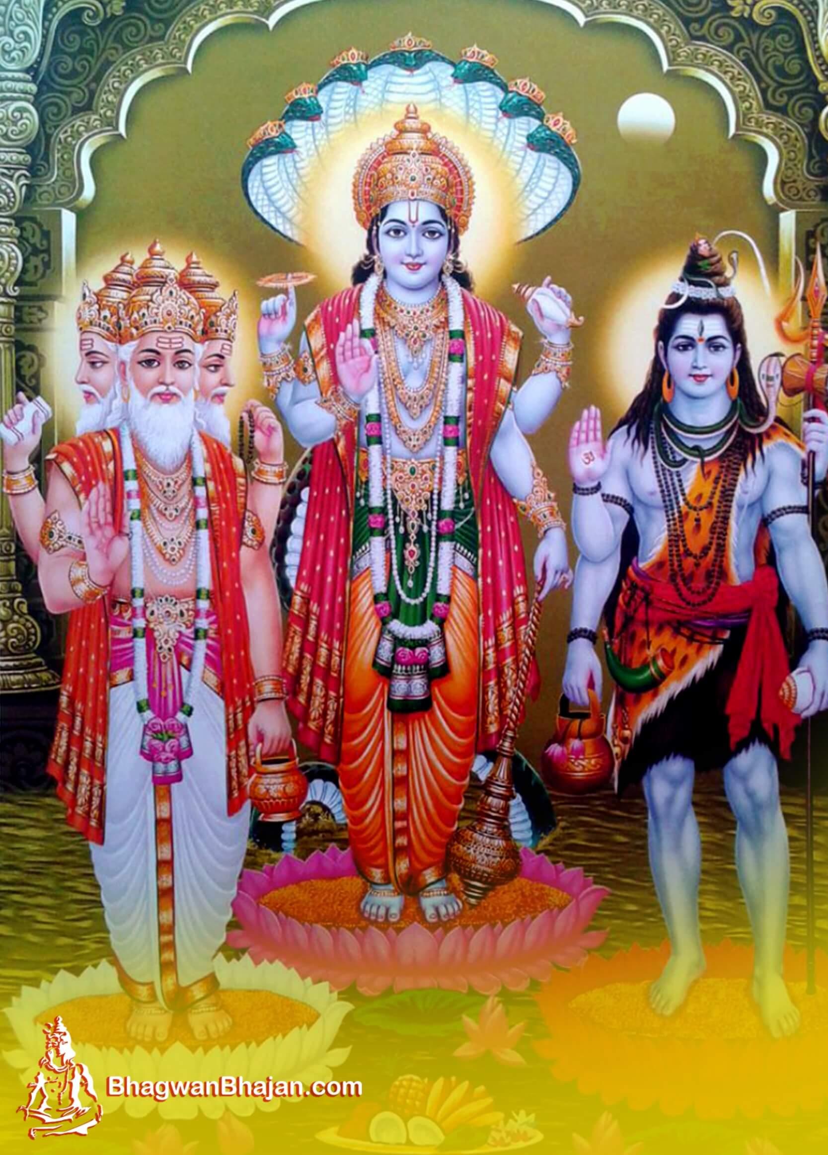Brahma Vishnu Mahesh Latest HD Wallpapers