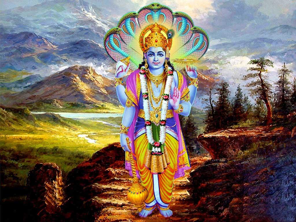 Bhagwan vishnu Ji Hd wallpaper