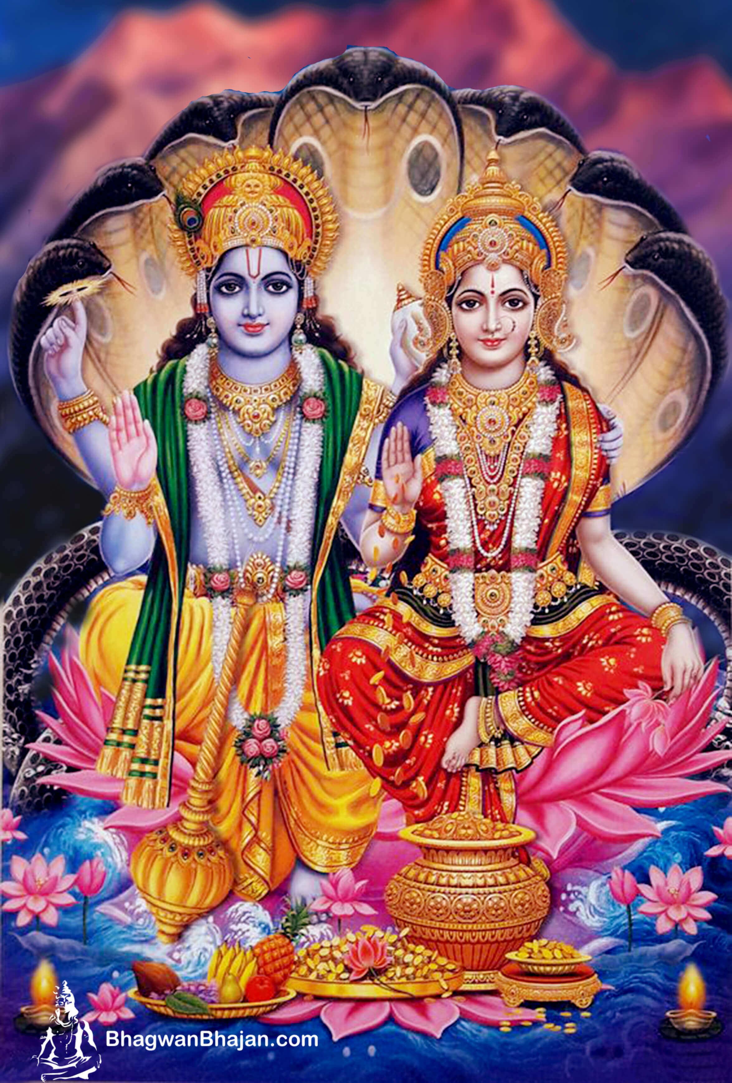 Lord Vishnu Latest HD New Wallpaper 2020