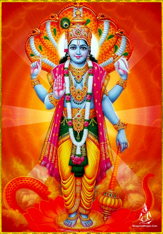 lord vishnu ji wallpaper