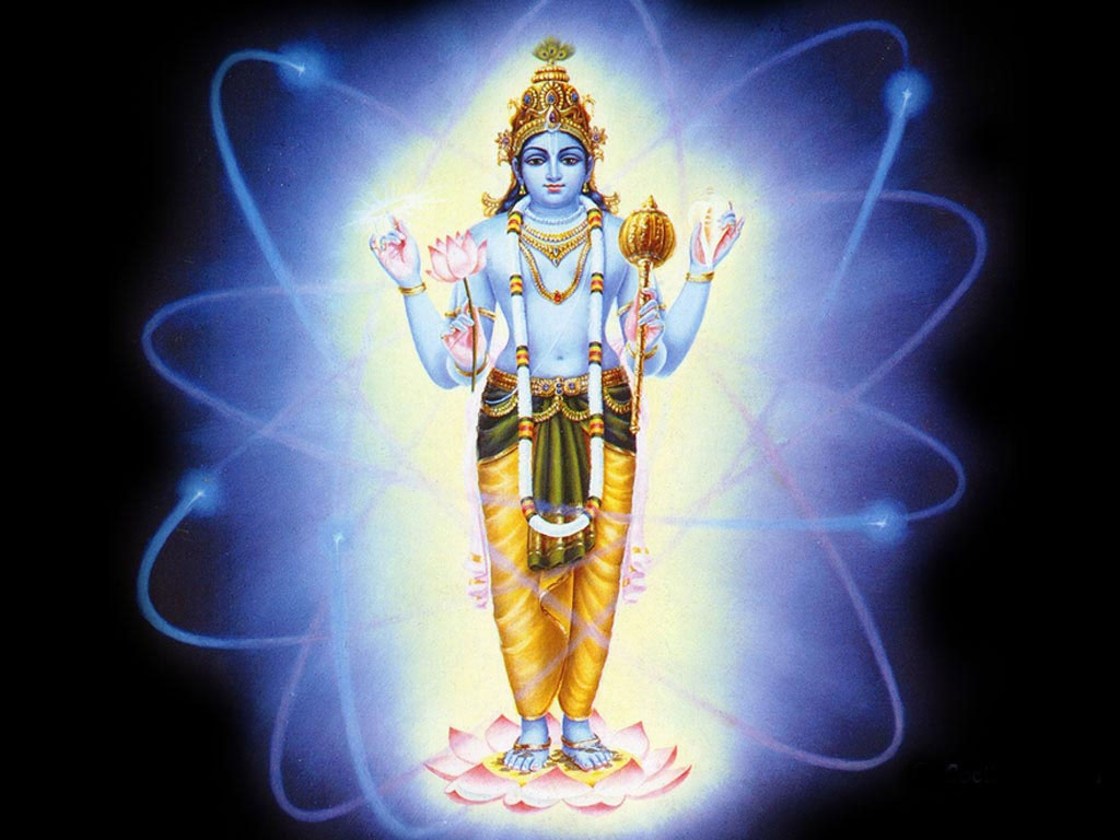 Lord Vishnu Hd wallpaper