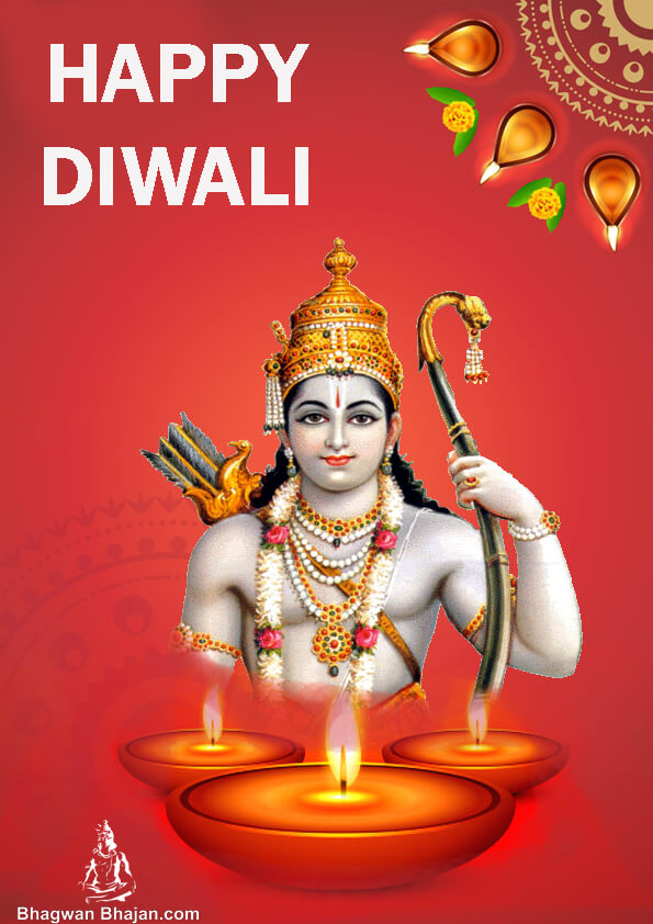 Bhagwan Shree Ram Ji Diwali 2019 Wallpaper