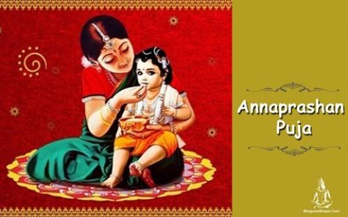 Book Annaprashan Puja online on bhagwabhajan.com