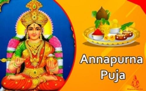 Book Annapurna Puja online on bhagwabhajan.com