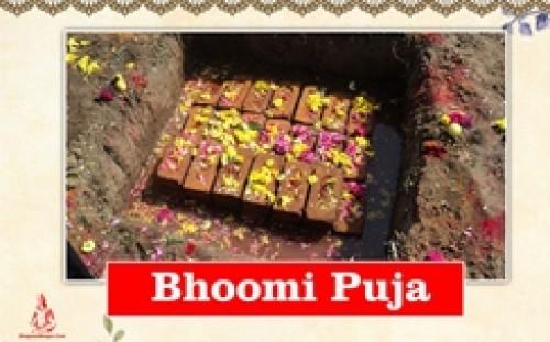 Book Bhoomi Puja online on bhagwabhajan.com