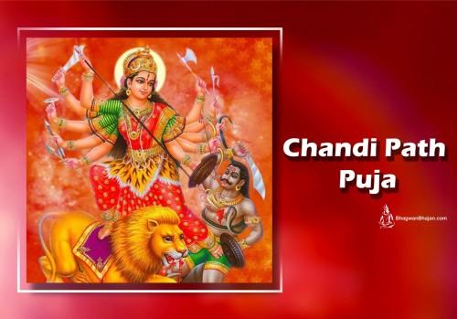 Book Chandi Path Puja online on bhagwabhajan.com