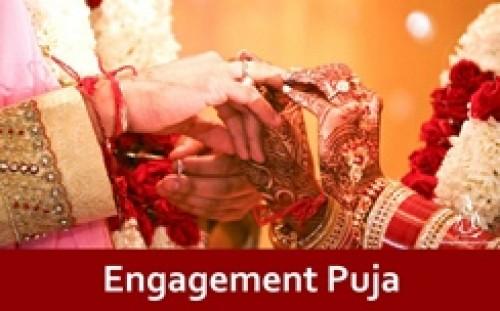 Book Engagement Puja online on bhagwabhajan.com