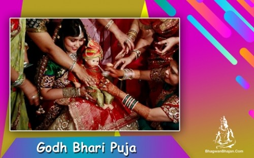 Book Godh Bharai Puja in Noida | Baby Shower online on bhagwabhajan.com