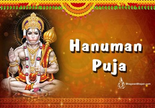 Book Hanuman Puja online on bhagwabhajan.com