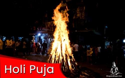 Book Holi Puja online on bhagwabhajan.com