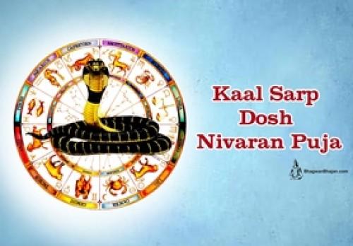 Book Kaal Sarp Dosh Nivaran Puja online on bhagwabhajan.com
