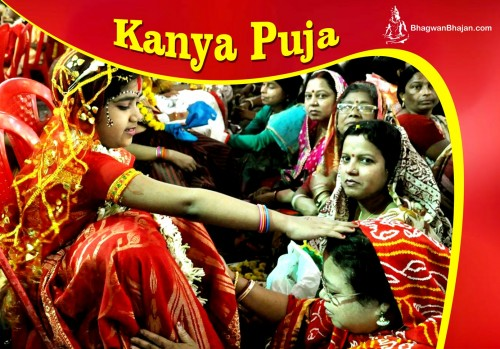 Kanya Puja: Worshipp of Goddess Durga