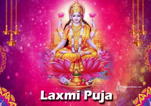 Lakshmi Pooja: Goddess of Propserity, Good Luck, & Purity