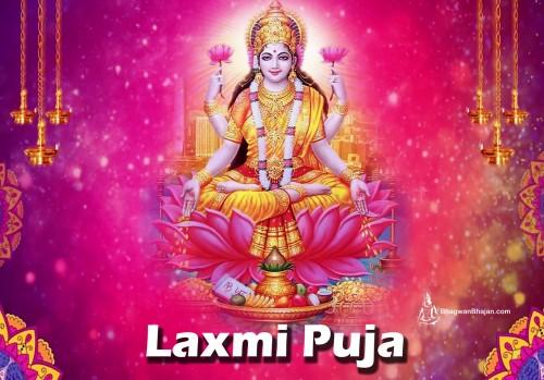 Book Lakshmi Pooja: Goddess of Propserity, Good Luck, & Purity online on bhagwabhajan.com