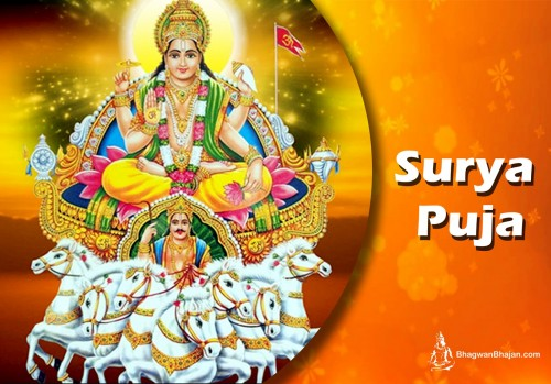 Surya Pooja: For Seeking blessings of Lord Surya