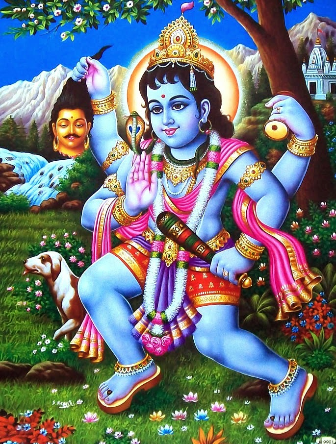 Baba Bhairavnath Designed Images