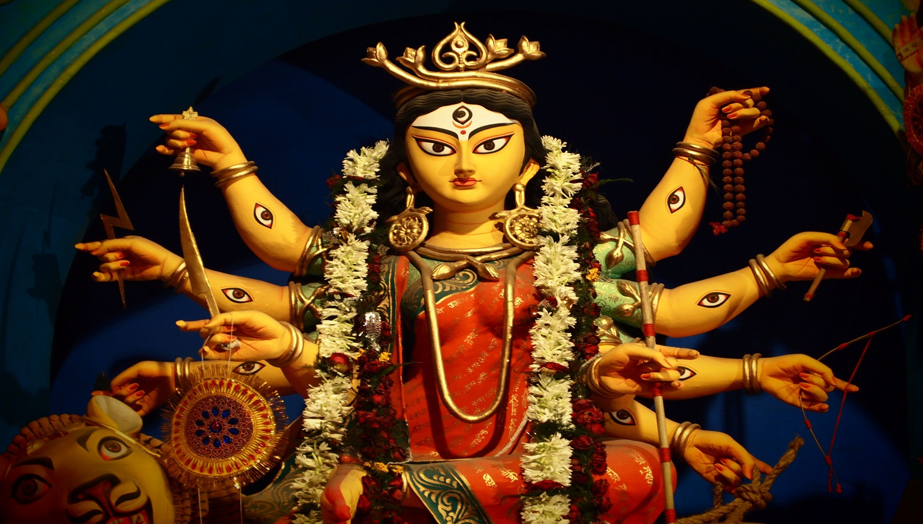 Deity Of Maa Durga