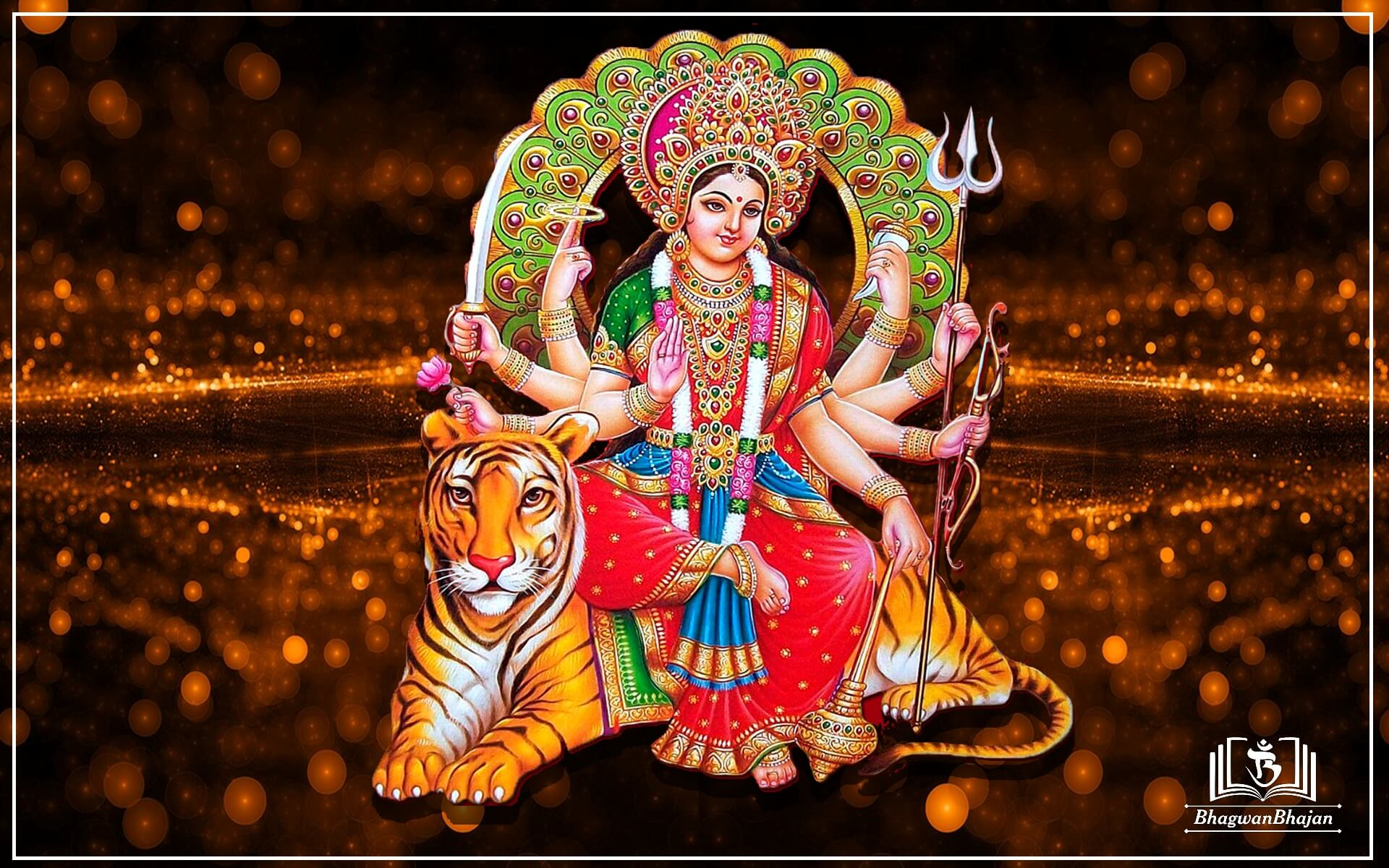 Download maa Durga Best navratri Wallpaper