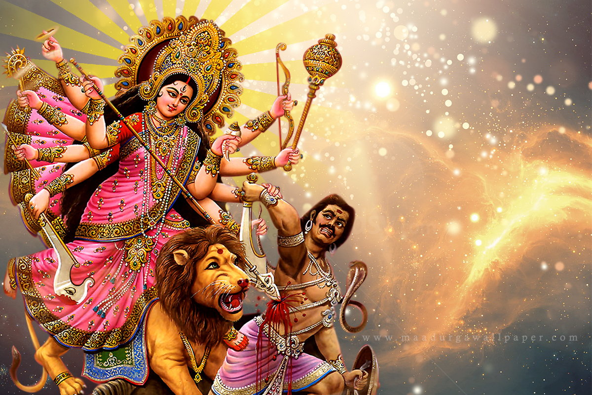 Download Free HD Wallpapers Of Maa Durga