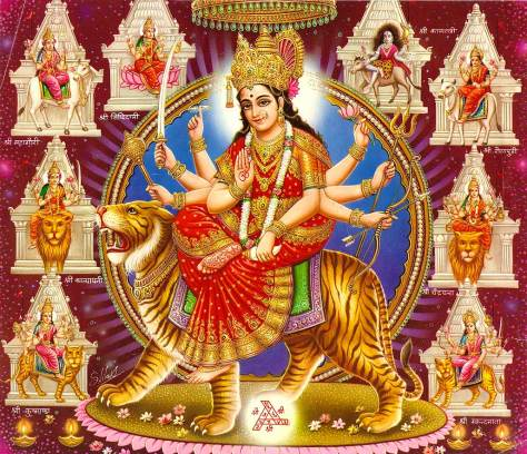 maa durga all famous temples wallpaper
