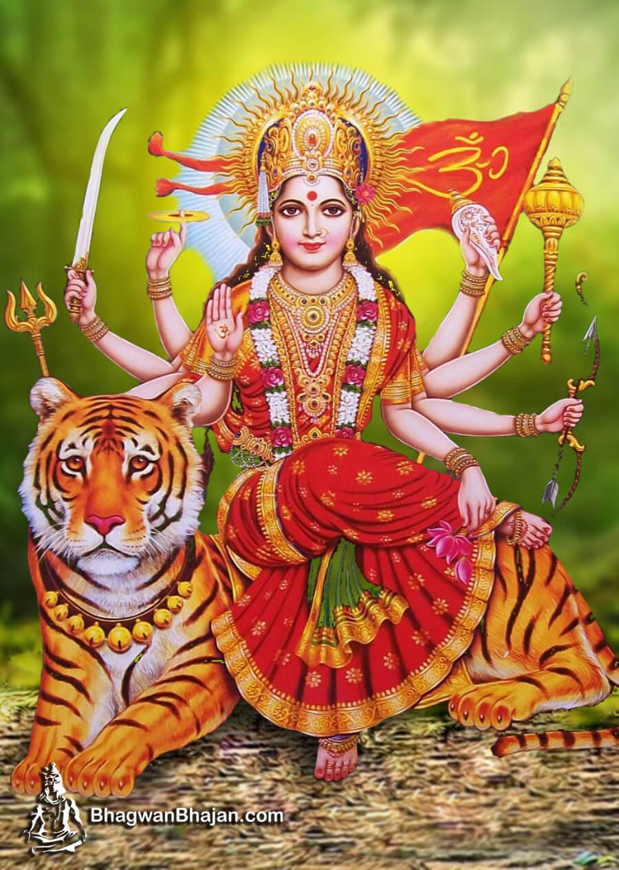 Maa Durga Jai Mata Di Wallpaper