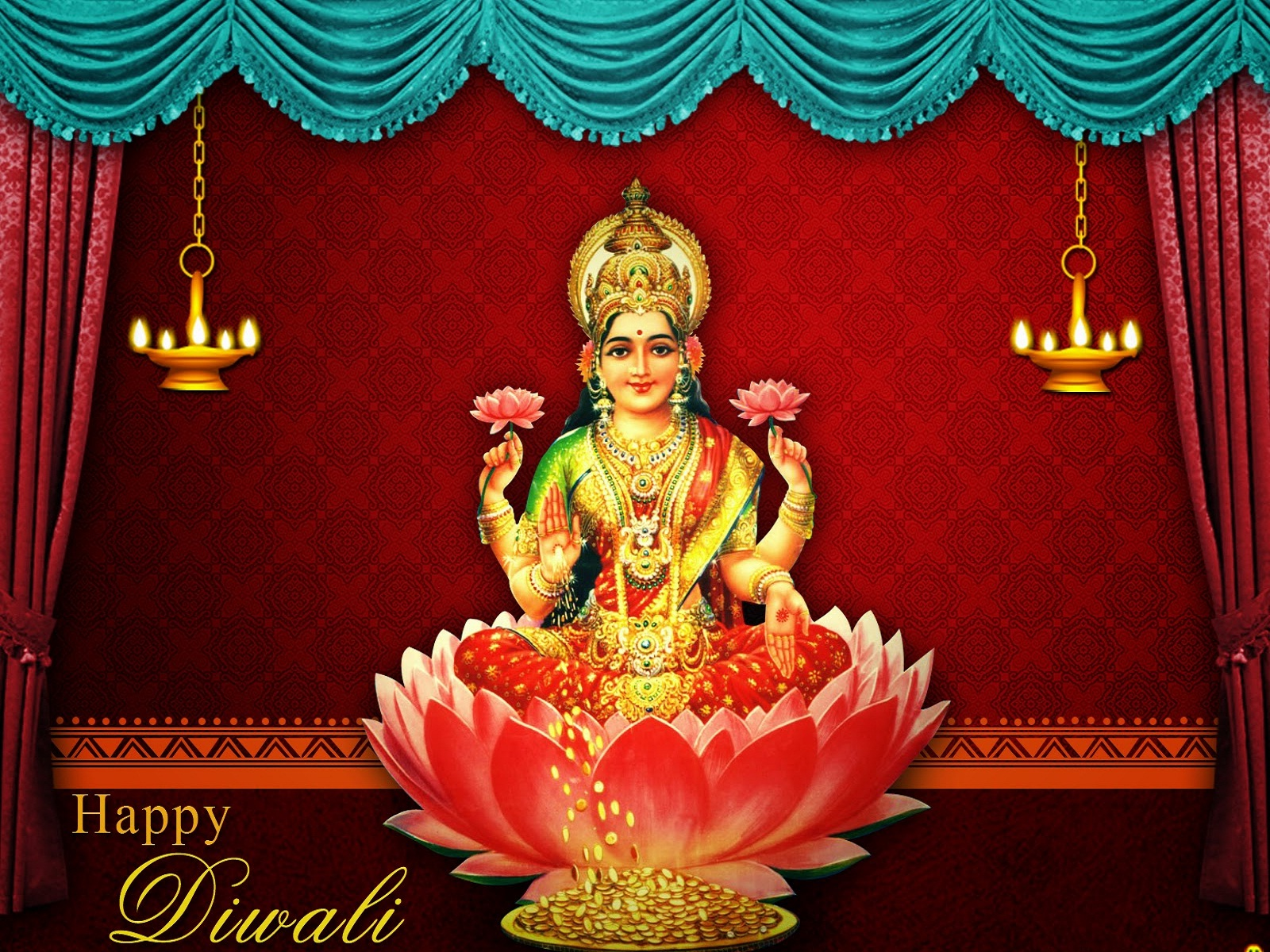 Download Free HD Wallpapers of maa laxmi Devi