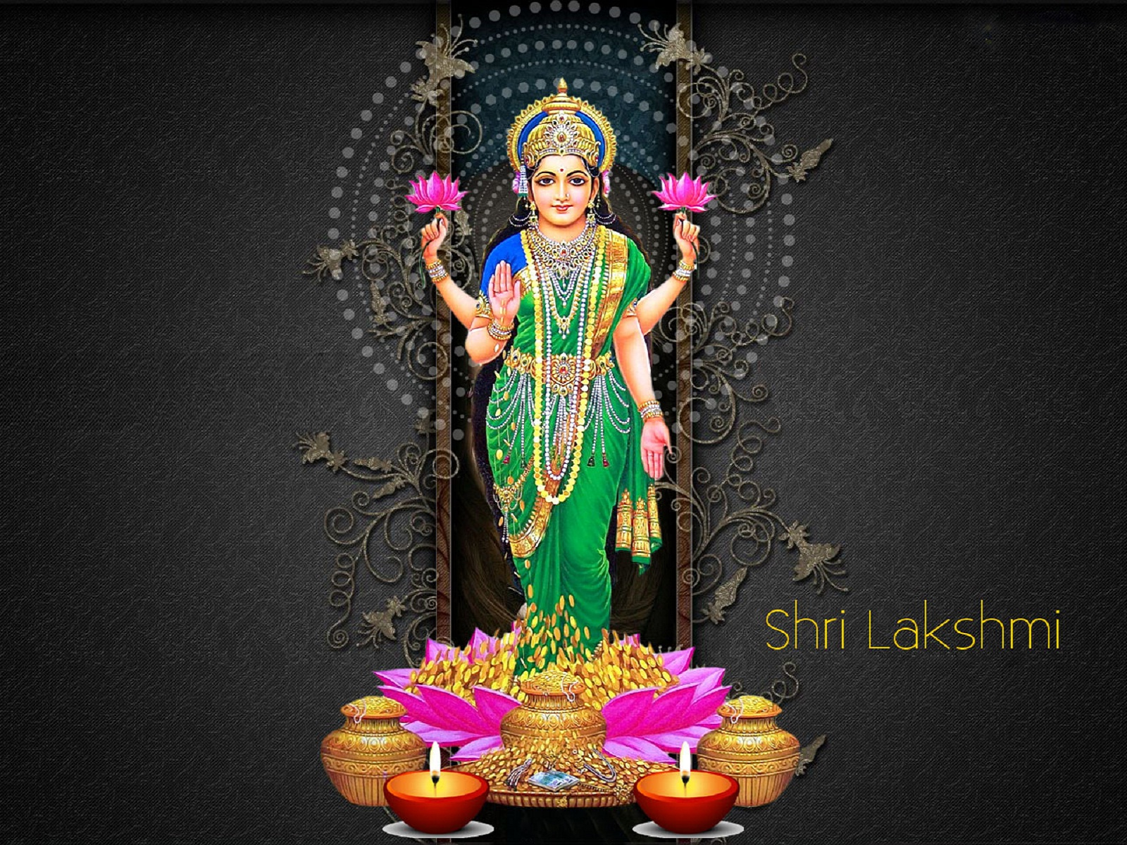 Download Free HD Wallpapers of Maa laxmi(lakshmi) Devi | Maa