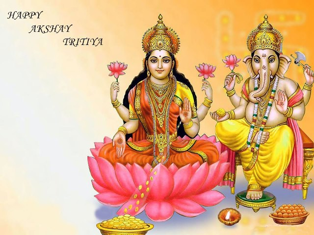 Laxmi and ganesha happy akshya tritiya