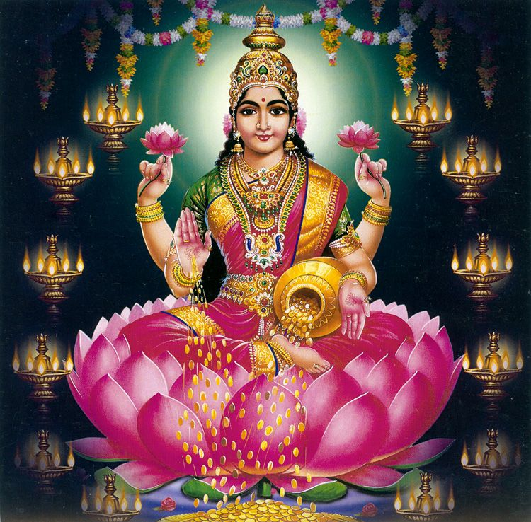Download Free HD Wallpapers Of Maa Laxmi(lakshmi) Devi