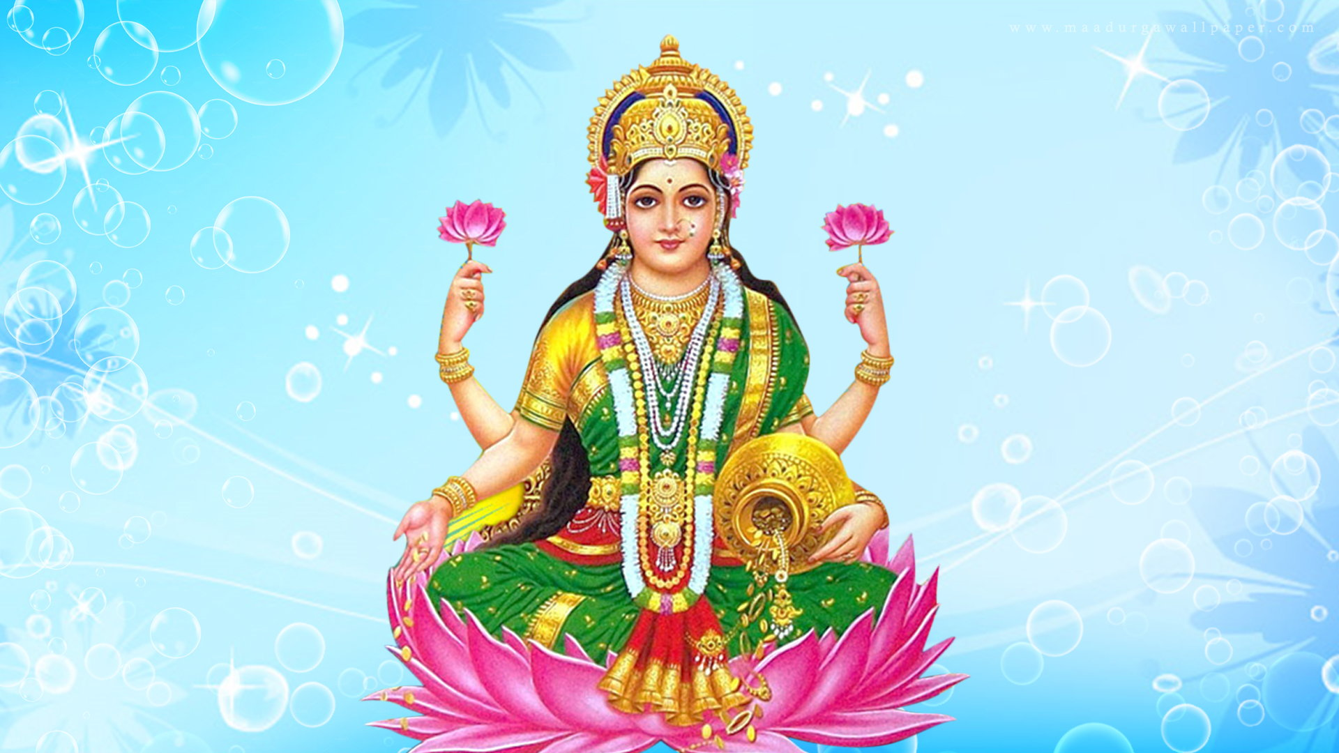 Download Free Hd Wallpapers Of Maa Laxmilakshmi Devi