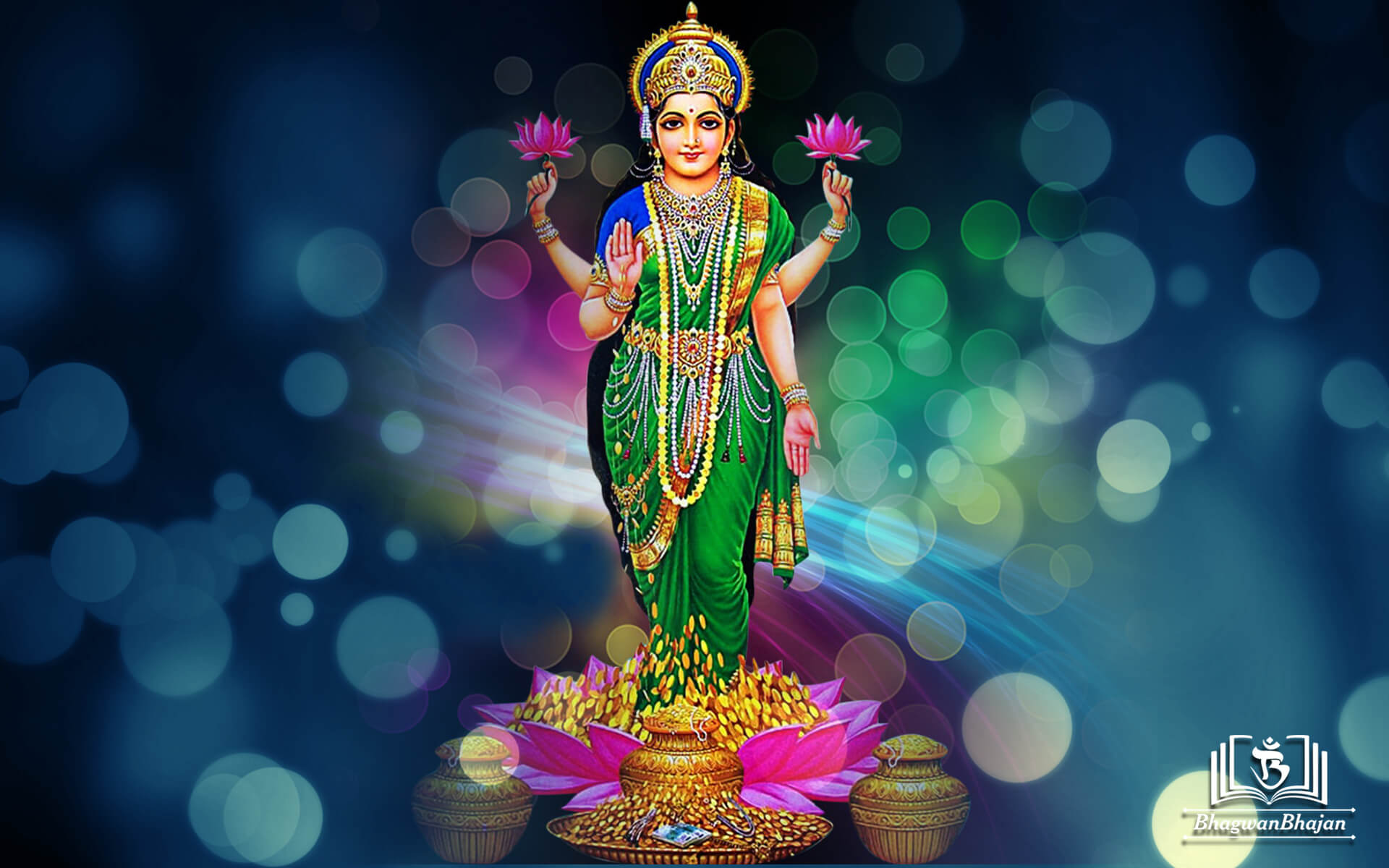 maa laxmi new hd wallpaper