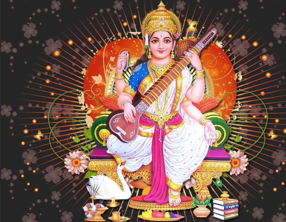 Saraswati mata images