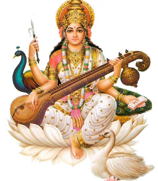 Download Free HD Wallpapers Of Maa Saraswati / माँ सरस्वती