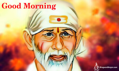 Good Morning Blessing Saibaba