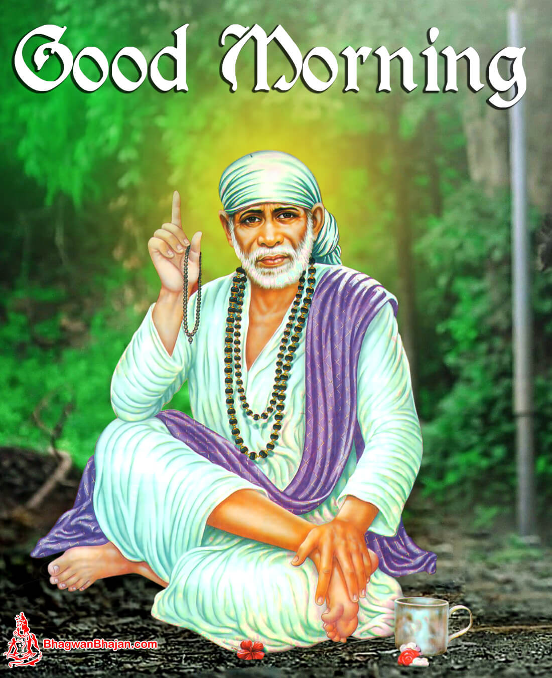 Monday Good Morning Sai Ram Images