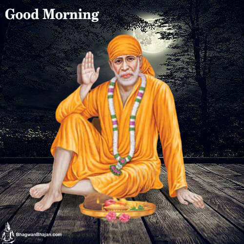 Sai Baba Good Morning Pic