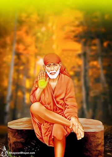 divince grace of sri sai Baba wallpaper
