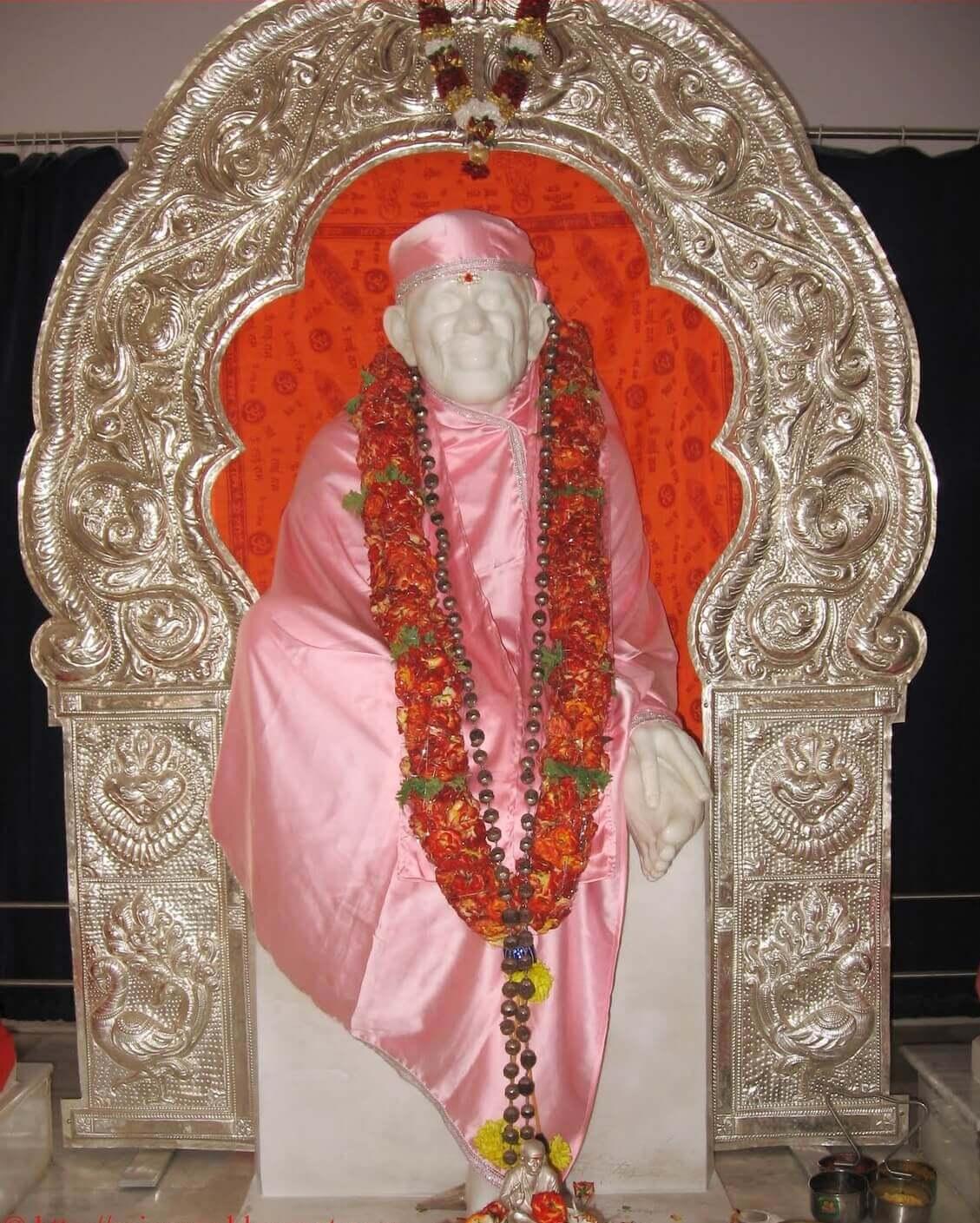 Shirdi Sai Baba Statue Hd wallpaper Image