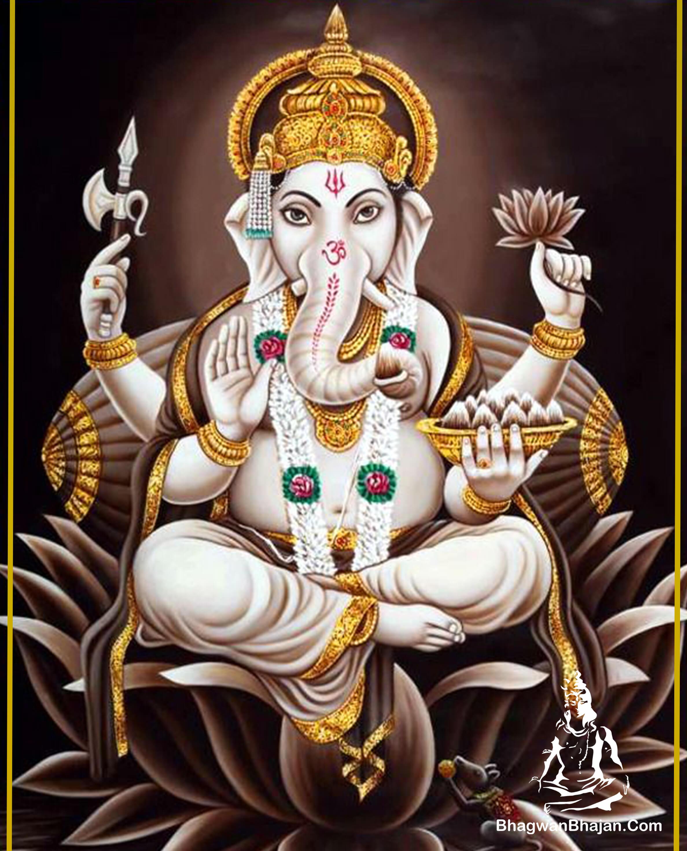 Download Bhagwan Shree Ganesh Free HD Wallpaper | Ganpati ...